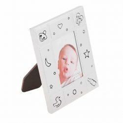 Set rama casetute bucla dintisor argintiu bebelusi
