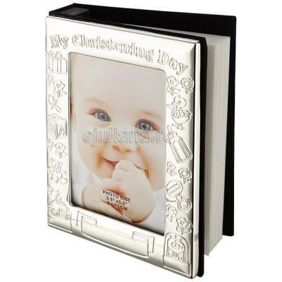 Album foto de botez, album pentru fotografiile bebelusului