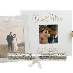 Album rama foto de nunta suport pentru certificat