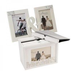 Album si rame foto de nunta Cadou de nunta pentru miri