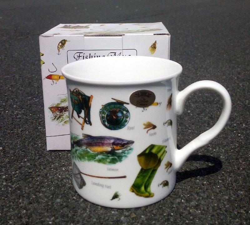 cana de cafea cadou pentru pescari