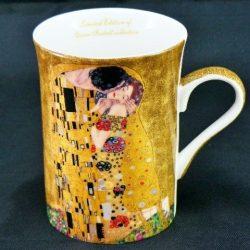 Cana de portelan de colectie Gustave Klimt