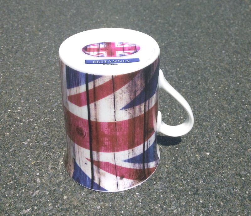Set cana portelan Union Jack c