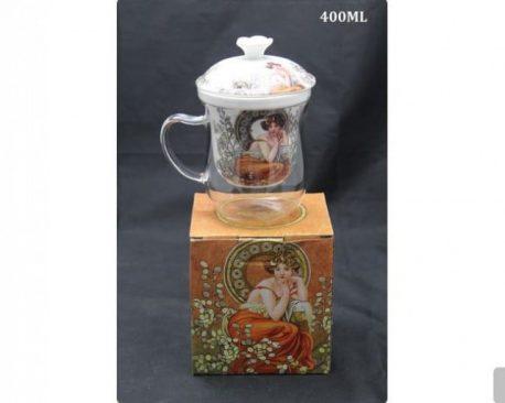 Cana yena ceai infuzor de portelan