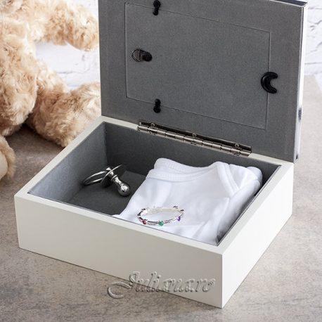 Caseta bebelusului cu rama foto Bambino