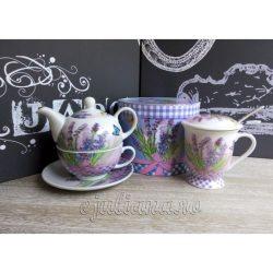 Cana cu infuzor ceainic cu lavanda