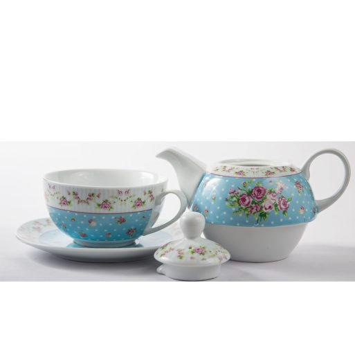 Ceainic tea for one trandafiri