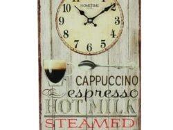 Ceas de perete Cappuccino vintage