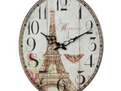 ceas de perete vintage oval