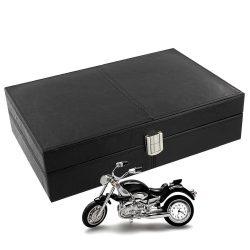 Cutie de ceasuri motocicleta ceas de birou HD