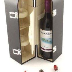 cutie sticla vin dubla