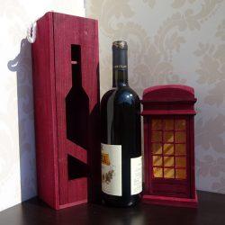 Cutie pentru sticla de vin
