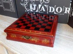 Joc de sah si table antichizat cadouri pentru barbati