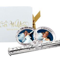 Album suport certificat si rama de nunta cadou pentru miri