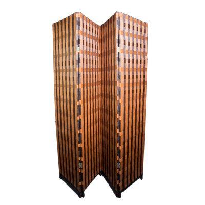 paravan despartitor din fibre naturale de bambus