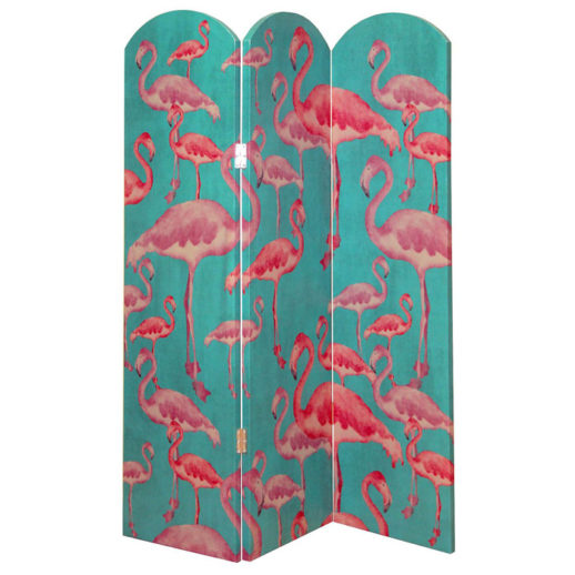Paravan decorativ flamingo turcoaz 595lei