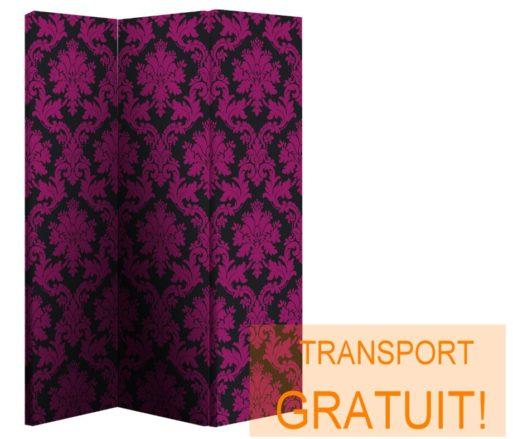 Paravan decorativ purpuriu