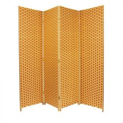 paravan despartitor fibre naturale bambus, paravan decorativ