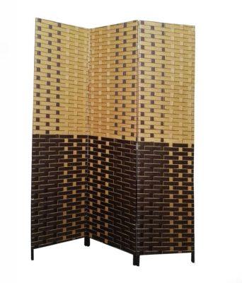 Paravan despartitor decorativ fir de bambus natural
