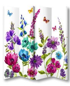Paravan decorativ floral