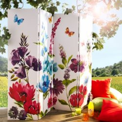 Paravan decorativ floral - www.ejuliana.ro