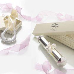 Potcoava suport pentru certificat de nunta cadou pentru miri
