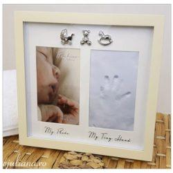 Rama amprenta pentru manuta bebelusului colectia Bambino by Juliana