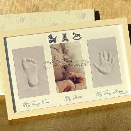 Rama amprenta manuta piciorus pentru bebelusi Juliana