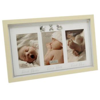 rama foto pentru bebelusi, rama tripla perete