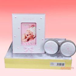 Set cadou rama cu casetute pentru dinte si bucla, cadou pentru fetita