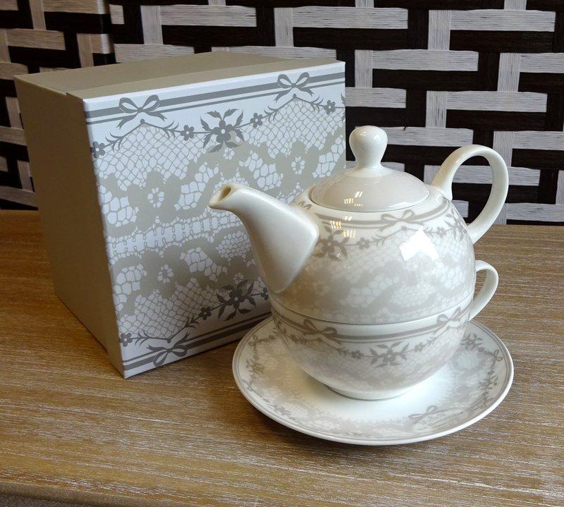 Set ceainic cu cesti de cafea