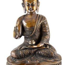 statueta de bronz Buddha