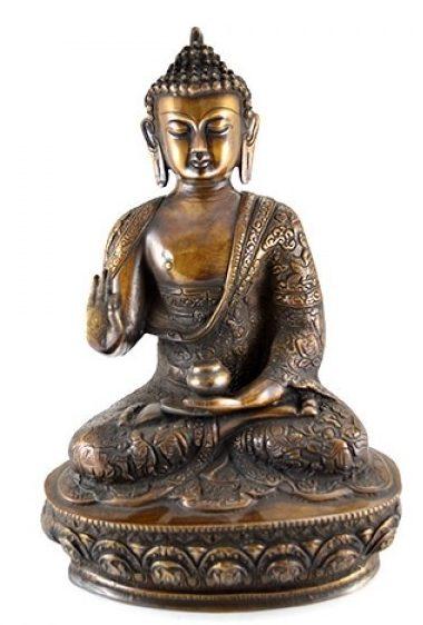 statueta de bronz Buddha, cadou de nunta pentru fini