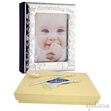 Album pentru bebelusi set tacamuri Juliana