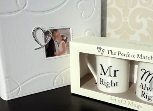 Album de nunta cani pentru cuplu Mr.Right si Mrs. Always Right