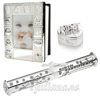 Cadou pentru bebelusi album set mot dintisor suport certificat de nastere