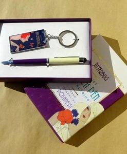 Cadou pentru femei pix breloc set Jutterbug by Juliana
