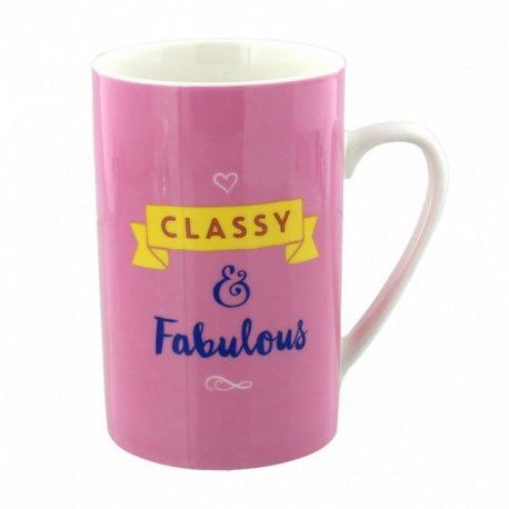 Cana de portelan Fabulous& Classy