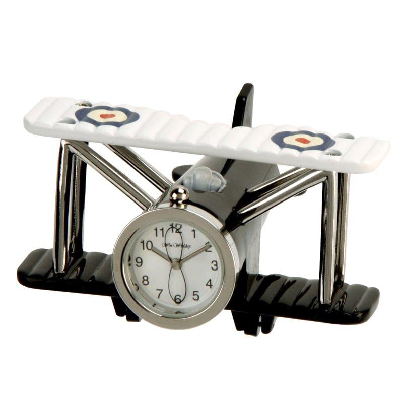 Ceas avion de birou miniatura