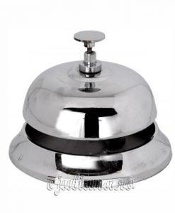 Clopotel de receptie argintiu hotel