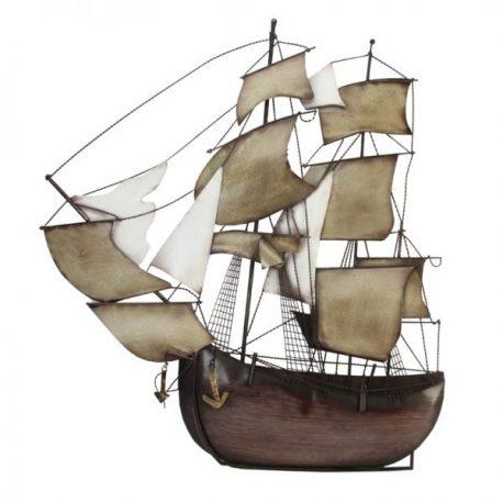 Corabie decorativa pentru perete JHL