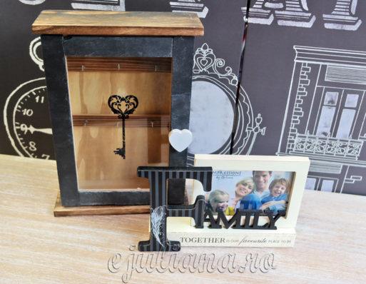 Cutie de chei rama de birou Family Juliana decoratiuni
