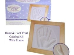 Kit cu rama pentru amprenta bebelusului