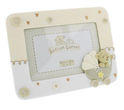 Rama foto pentru bebelusi Button Corner