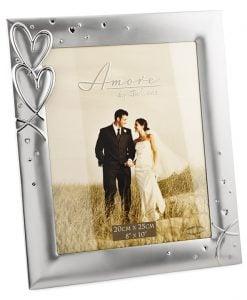 Rama de nunta mare cu inimioare