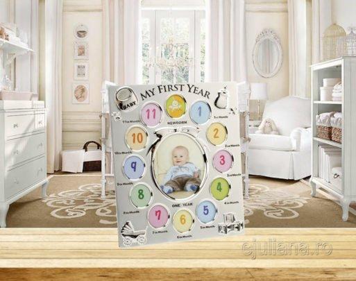 Rama pentru primul an al bebelusului colectia Impressions by Juliana