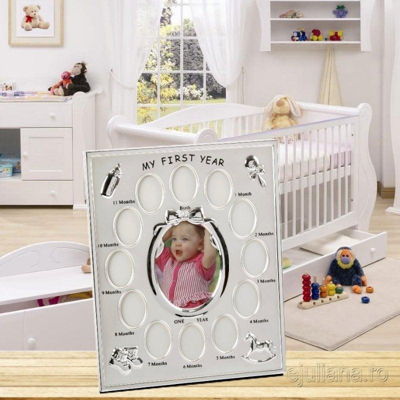 Rama pentru primul an camera bebelusului ejuliana