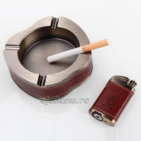 Set fumatori bricheta scrumiera mar