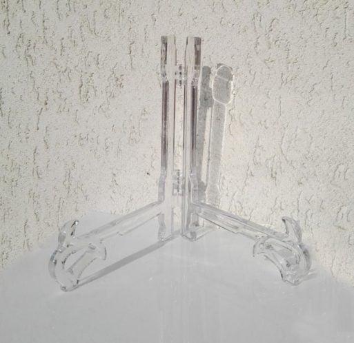 Suport pentru farfurie transparent suport acrilic pentru platouri