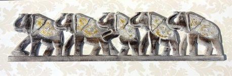 Sir de elefanti sculptati